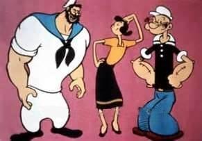 Popeye el marino popeye no solamente ha sido un popular personaje de las tiras cmicas su aparicin en caricaturas en la tele fue todo un xito y en cine tambin lo fue thecheapjerseys Choice Image