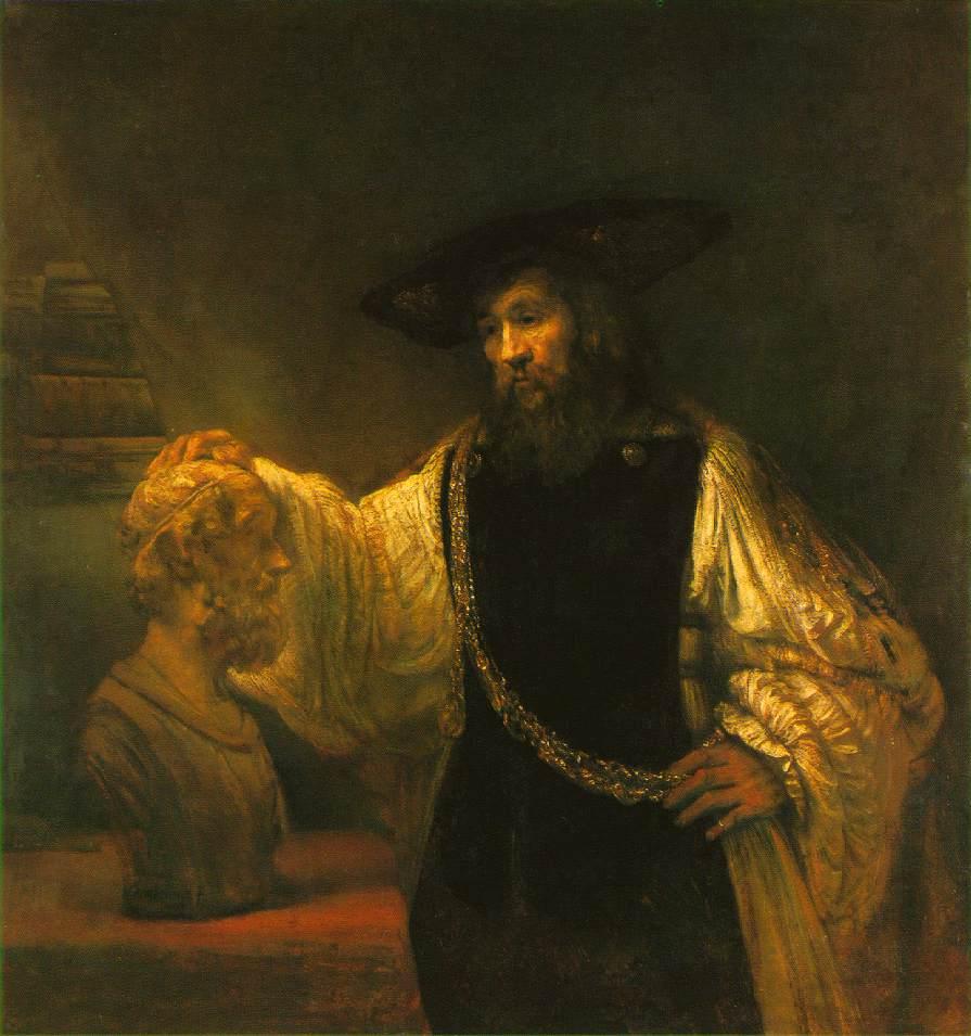 Rembrandt Aristotle wi...