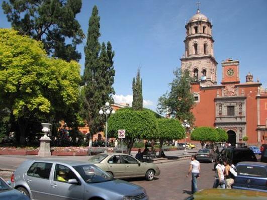Mexico for Jardin zenea queretaro